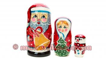 """Іграшка дерев'яна  """"Дід Мороз"""""""