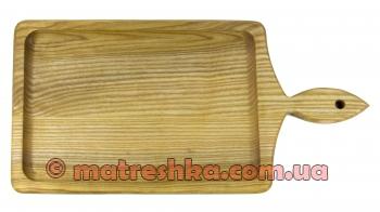 Дерев'яна тарілка