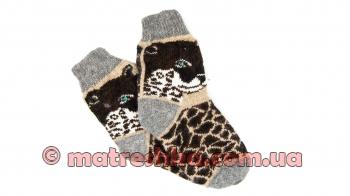 Женские шерстяные носки