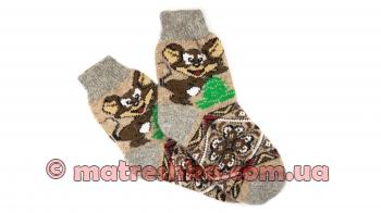 Жіночі шерстяні шкарпетки