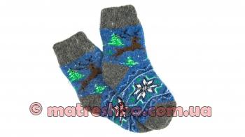 Подростковые шерстяные носки
