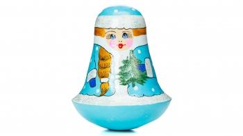 """Дерев'яна іграшка-неваляшка """"Снігурочка"""""""