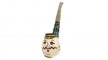 Деревянная трубка для курения
