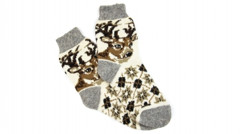 Чоловічі шерстяні шкарпетки