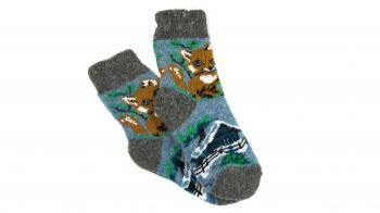 Підліткові шерстяні шкарпетки